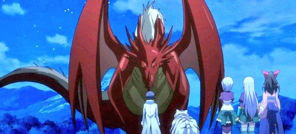 ドラゴンの長に認められるスマホ太郎